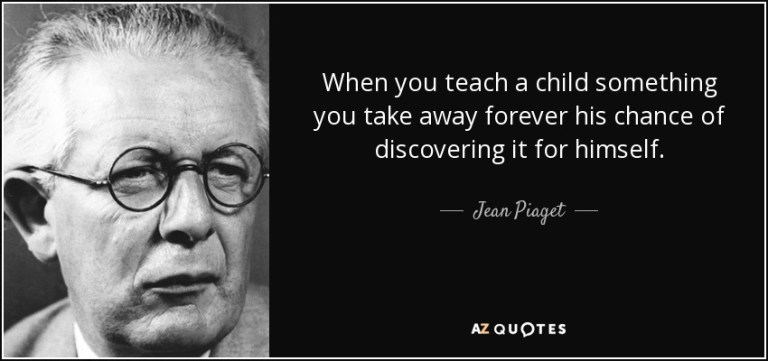 quote from jean piaget