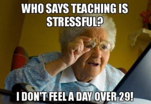 Five Ways to Manage Teacher Stress