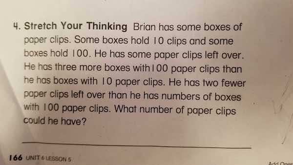 Some common core word problems emphasize conceptual math but leave students and educators confused