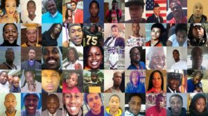 Black Americans Murdered by Police. We can separate education from politics, but not morality