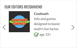 cool math games is not an adaptive learning platform, but recommended by education software review site