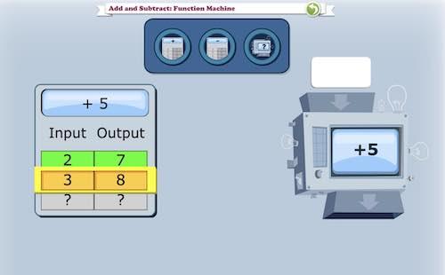 DreamBox Function Machine Problem Set