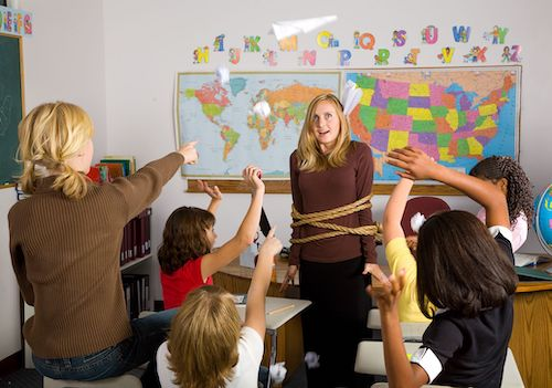 When a classroom is out of control, teachers need to create order before focusing on classroom culture