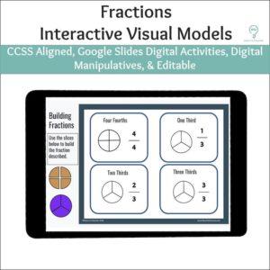 Fractions Digital Activities