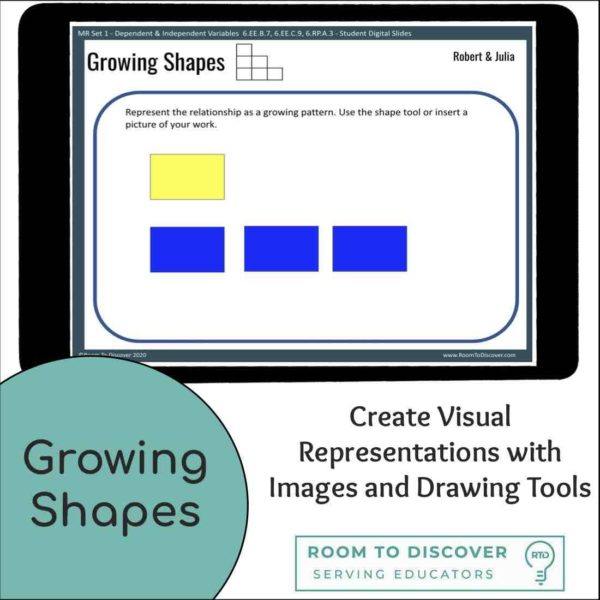 Dependent and Independent Variables Multiple Representations Word Problems and Patterns