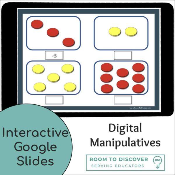 Adding Integers | Interactive Digital Visual Models-3