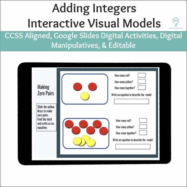Adding Integers   Interactive Digital Visual Models-5
