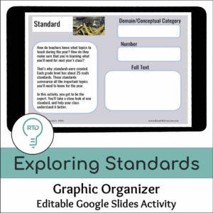 Exploring Standards Activity | Google Slides
