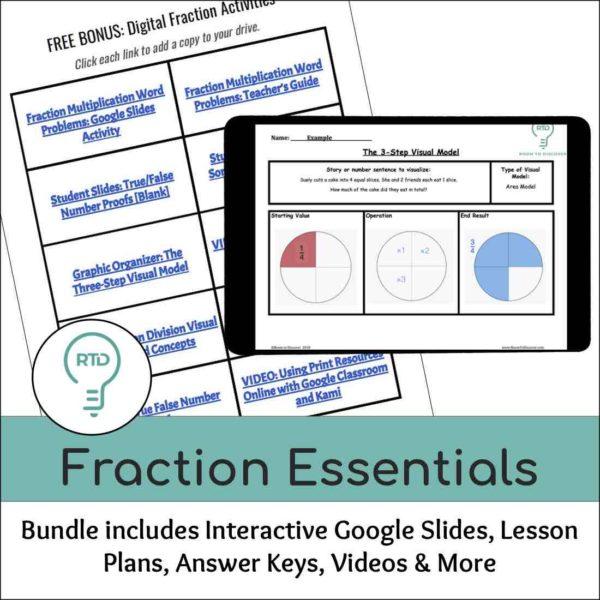 Fraction Essentials Bundle: eBook and Digital Activities