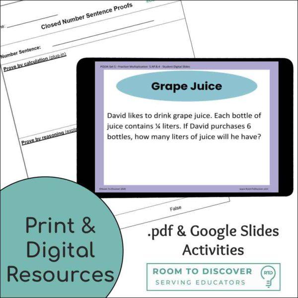 Fraction Essentials Bundle: eBook and Digital Activities-4
