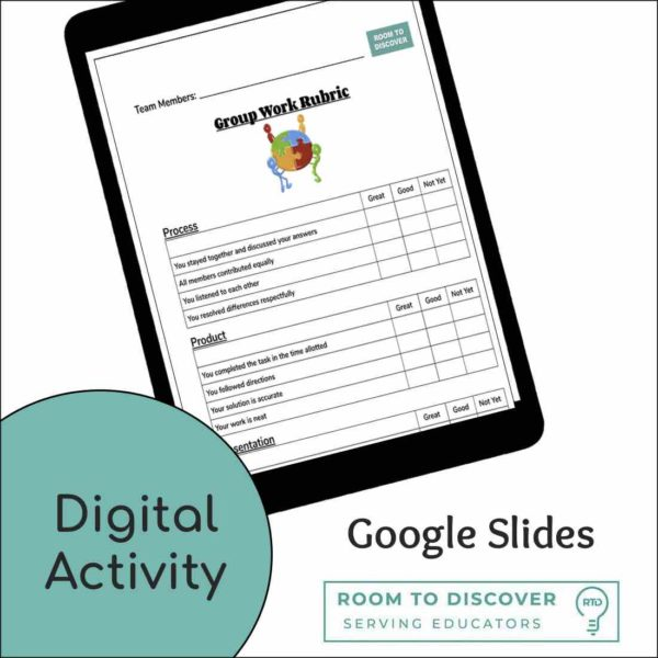 Group Work Rubric | Print and Digital Option-2