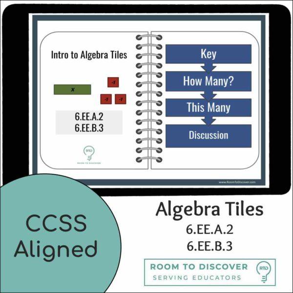 Intro to Algebra Tiles | Interactive Digital Visual Models-3