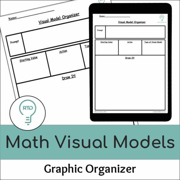 Visual Models Graphic Organizer Template