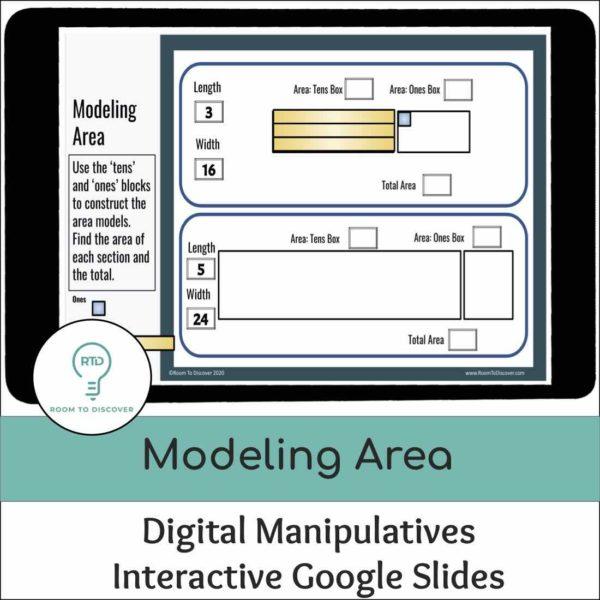 Area Models for Multiplication | Google Slides Activity