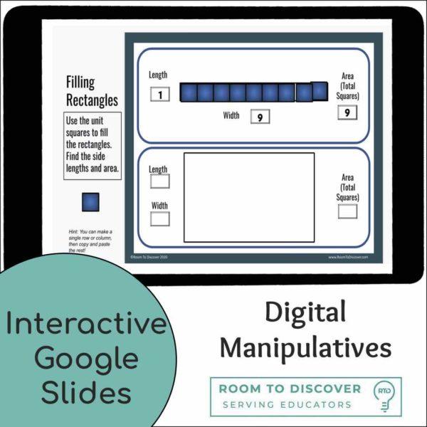 Area Models for Multiplication | Google Slides Activity-2