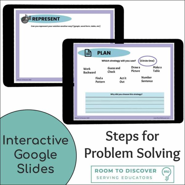 Multiplying Fractions Word Problem Activities  - Complete Digital and Print Lesson-3