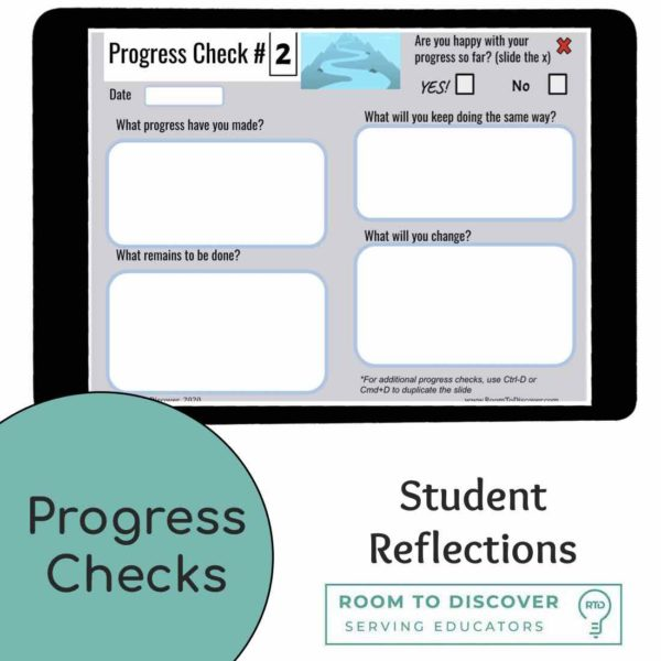 Student Goal Setting Activity | Google Slides-3