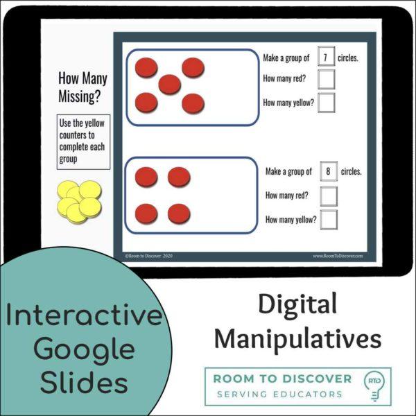 Counting 0 to 9 Activities | Interactive Digital Visual Models-2