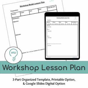 Workshop Lesson Plan | Digital and Print