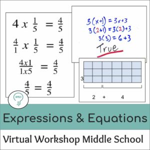 Teaching Expressions and Equations in Middle School Math