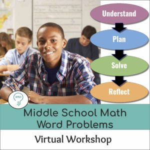 Online Workshop: How to Teach Word Problems in Middle School