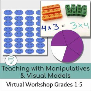 Teaching With Manipulatives And Visual Models (Grades 1-5)