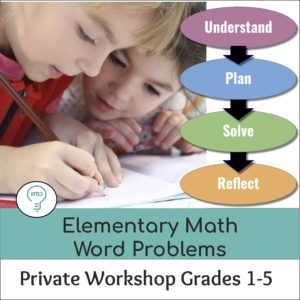 Private Workshop: Elementary Word Problems