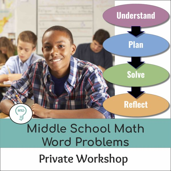 Private Workshop: How to Teach Word Problems in Middle School
