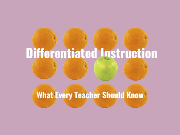 What every teacher should know about differentiated instruction