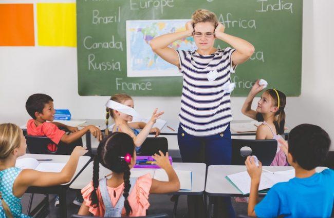Disruptive Elementary Student Behavior