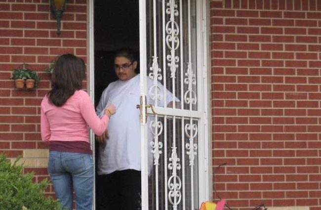 Fostering student connection by knocking on doors and connecting with the community
