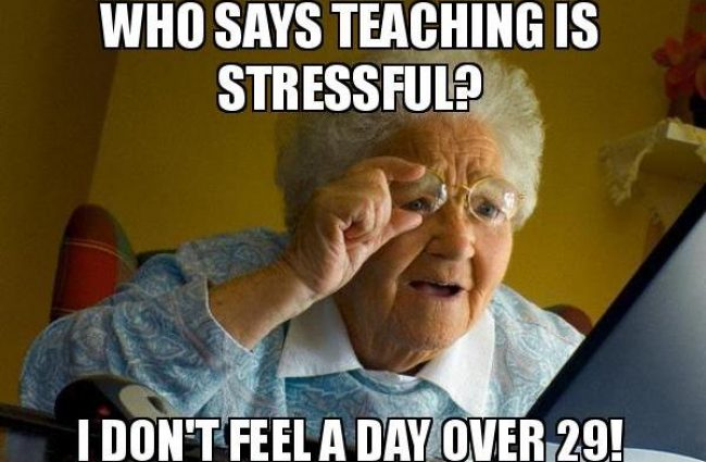 Five Ways to Manage Teacher Stress